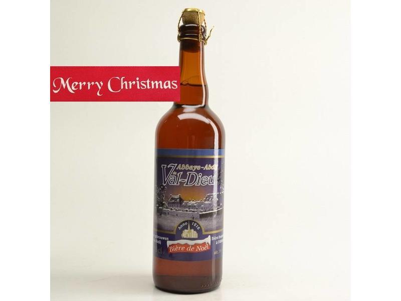 WZ / FLES Val Dieu Biere de Noel Kerst