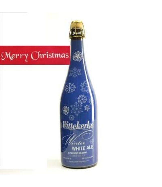 75cl   l-------l Wittekerke Winter White Kerstbier - 75cl