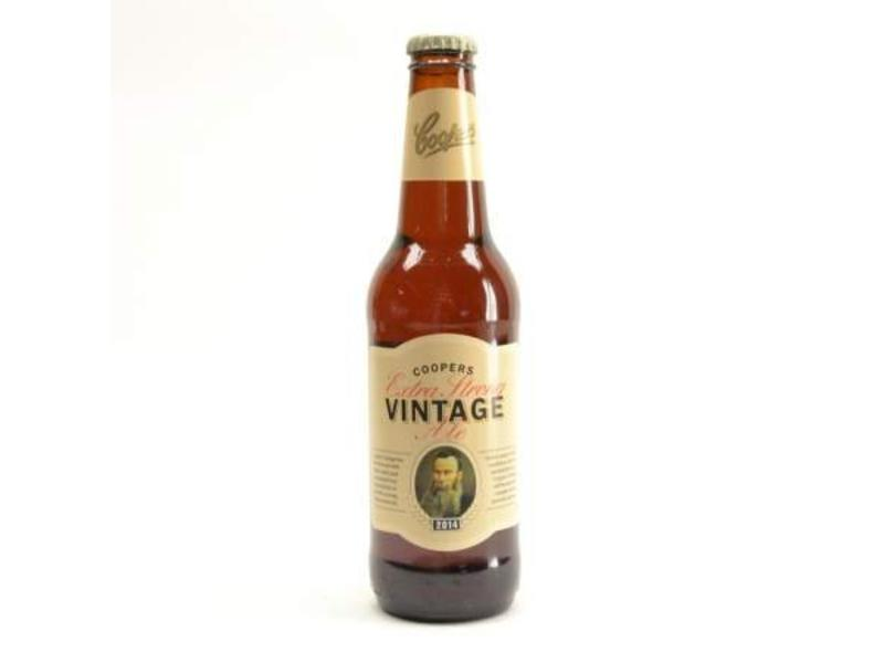 A Coopers Extra Strong Vintage Ale