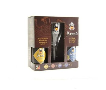 Arend Beer Gift Pack (4x33cl + gl)