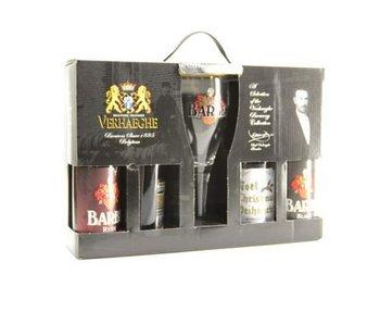 Barbe Bier Geschenk (4x33cl + gl)