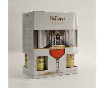La Trappe Gift Pack (4x33cl + gl) (NL)