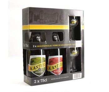 Kasteel Biergeschenk (2x75cl + 2xgl)