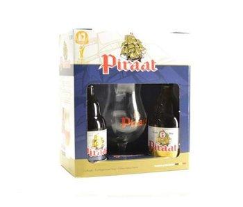 Piraat Biergeschenk (2x33cl + gl)