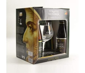 Coffret cadeau Straffe Hendrik (4x33cl + gl)