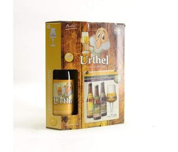 Coffret cadeau Urthel (3x33cl + gl)