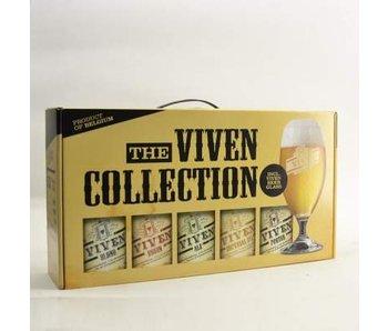 Viven Gift Pack (5x33cl + gl)