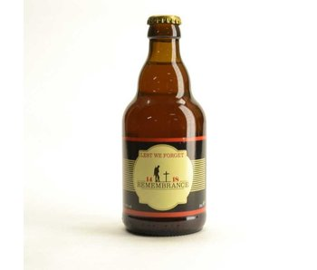 Remembrance Beer 14-18 - 33cl
