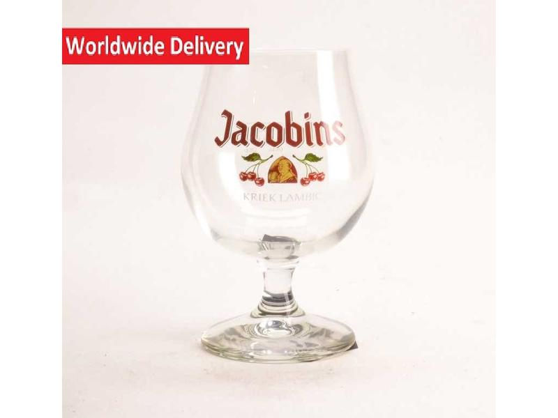 WD / STUK Jacobins Kriek Beer Glass
