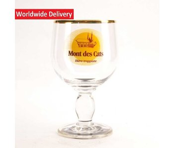 Mont des Cats Beer Glass - 33cl (FR)