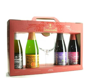Lindemans Beer Gift (4x37.5cl + gl)