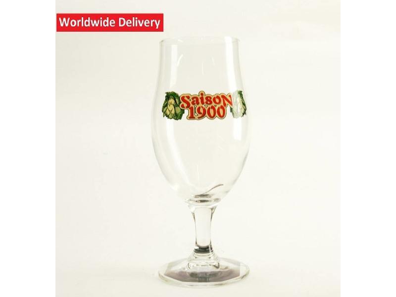 Saison 1900 Beer Glass