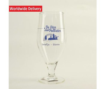 De Liter van Palieter Beer Glass 33cl