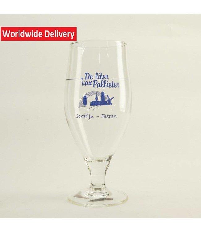 GLAS l-------l De Liter van Palieter Bierglas 33cl