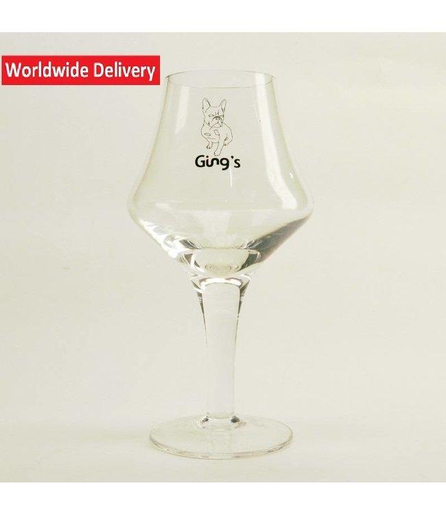 GLAS l-------l Gings Bierglas 33cl