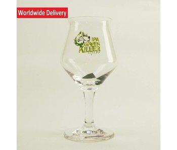 Green Killer Beer Glass 25cl