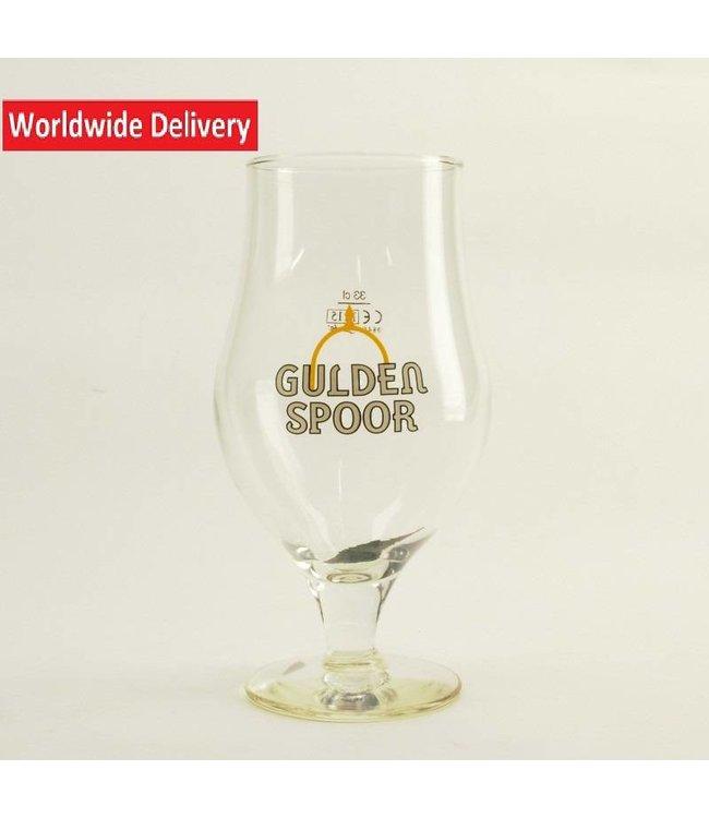 GLAS l-------l Gulden Spoor Bierglas 33cl
