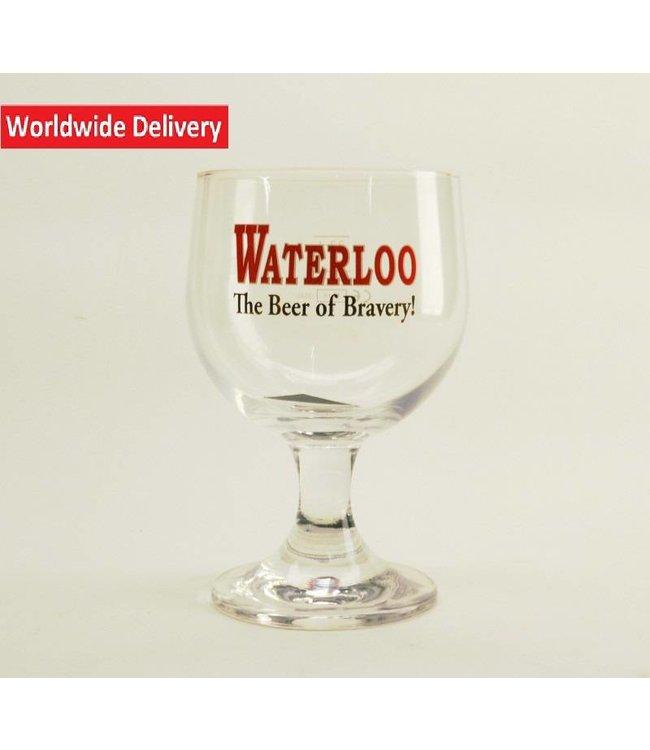 GLAS l-------l Waterloo Bierglas 33cl