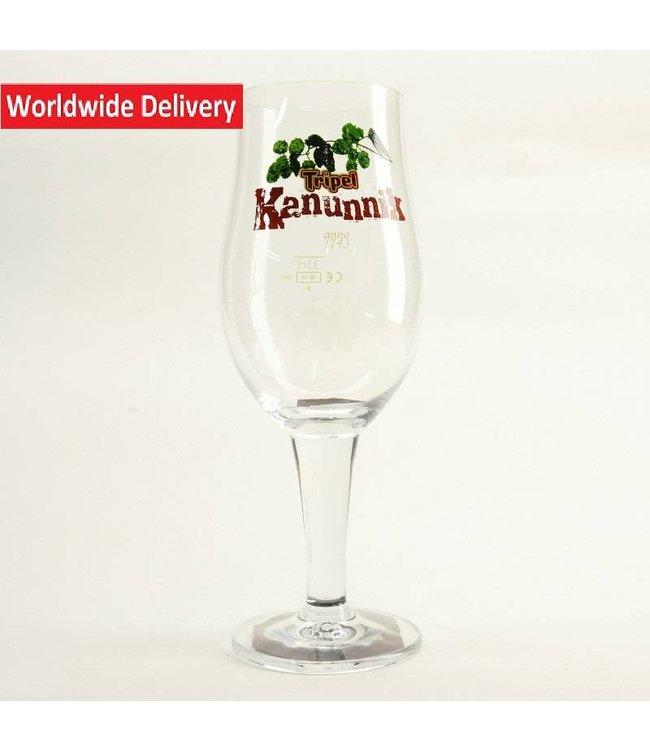 GLAS l-------l Tripel Kanunnik Beer Glass - 33cl