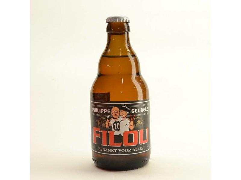 WA / FLES Filou Philippe Geubels Bedankt voor Alles 33cl