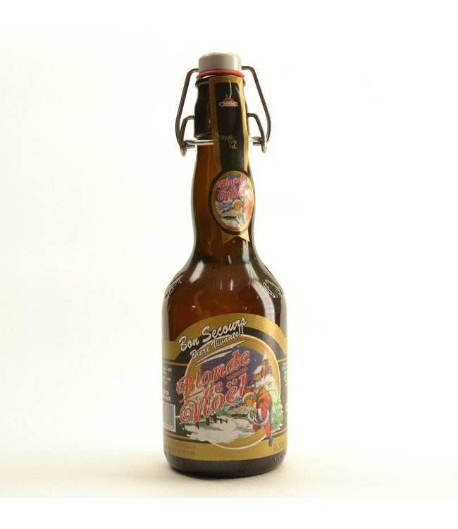 Bon Secours Blonde de Noel Christmas - 33cl