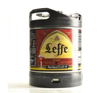 Leffe Ruby Perfect Draft keg - 6l