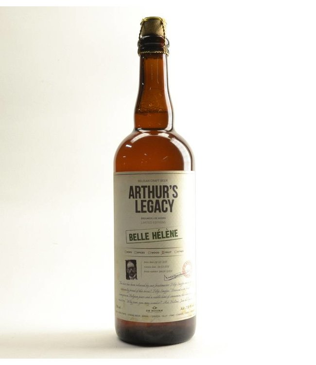 75cl   l-------l Arthurs Legacy Belle Helene - 75cl