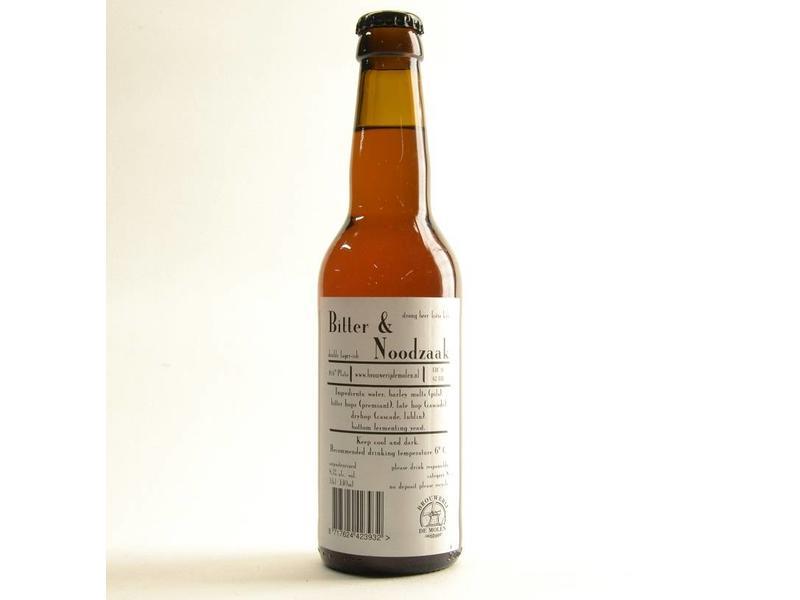 WA De Molen Bitter en Noodzaak - 33cl