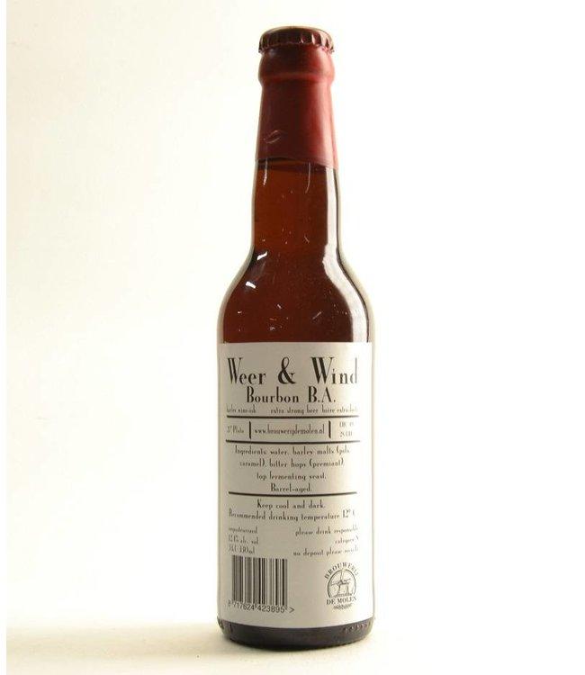 De Molen Weer en Wind Bourbon - 33cl