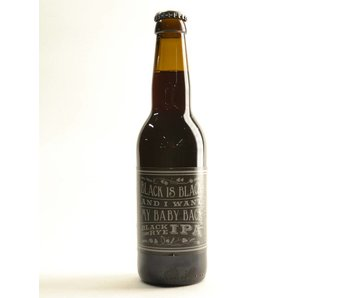 Black is Black and I want my baby back Black Rye IPA - 33cl