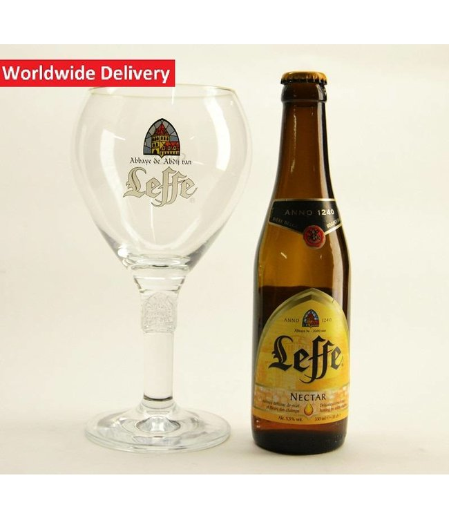 50cl glas  l-------l Leffe Bierglas (Groot) - 50cl