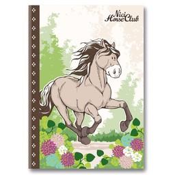 Nici Paarden Notitieboek A5 Grijs Beige