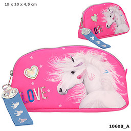 Miss Melody Miss Melody make-up tas roze