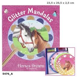Horses Dreams glitter mandala Creative set