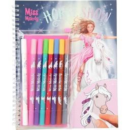 Miss Melody kleurboek - Met Magic Markers