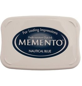 Memento Memento stempelkussen Nautical blue