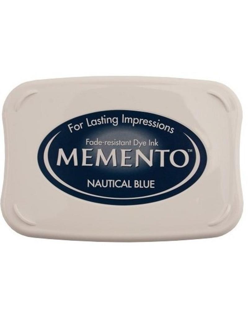 Memento Memento stempelkussen Nautical blue