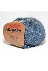 Adriafil Woca garen grijsblauw-wit gemeleerd