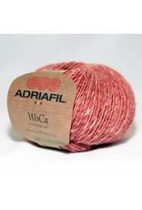 Adriafil Woca garen steenrood-wit gemeleerd