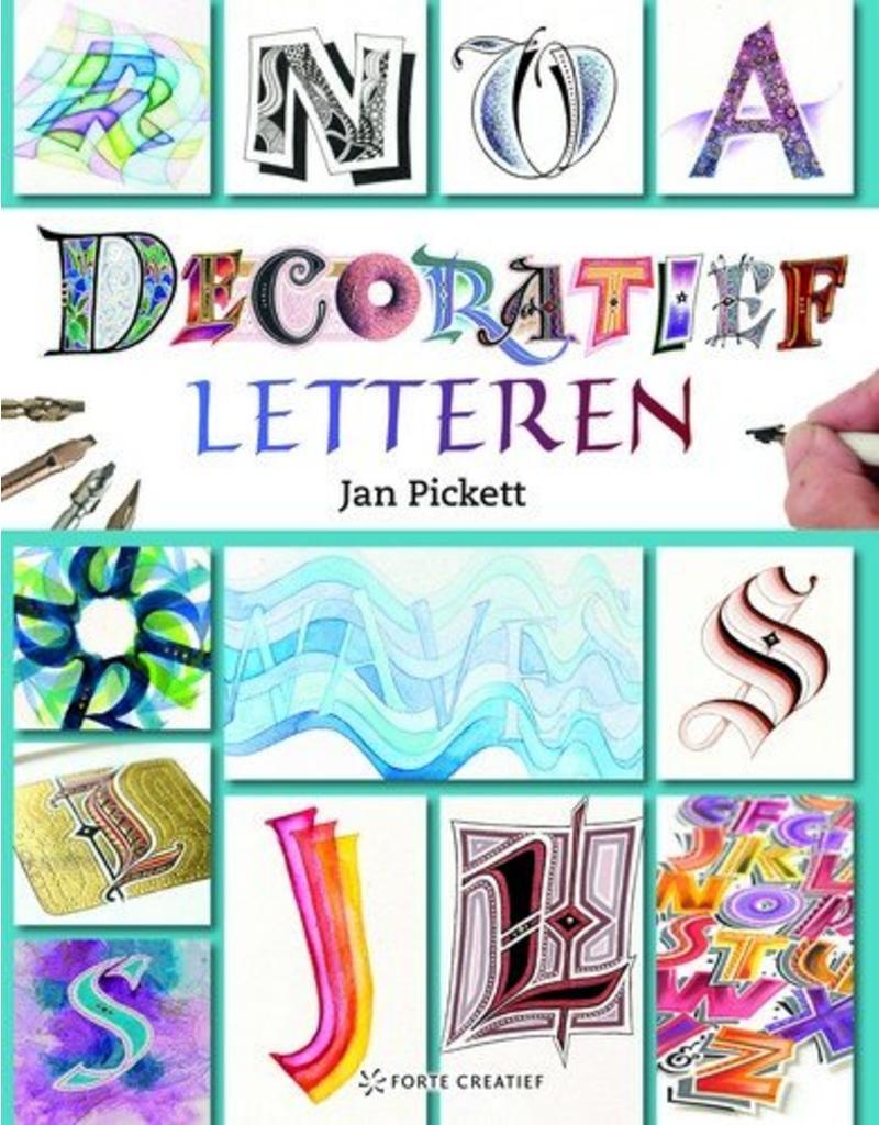 Forte Boek Decoratief letteren