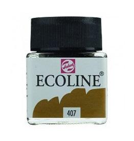 Talens Ecoline 30 ml - donker oker