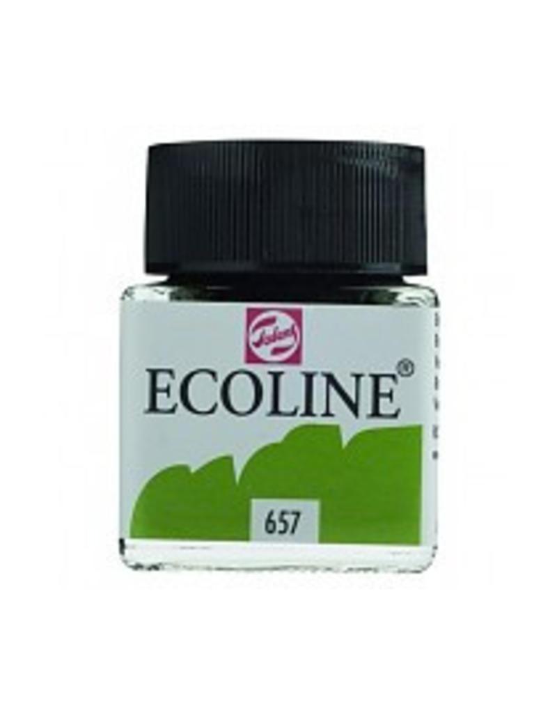 Talens Ecoline 30 ml - bronsgroen