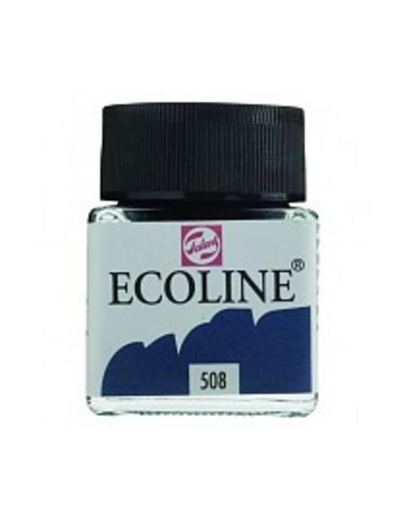 Talens Ecoline 30 ml - pruisischblauw