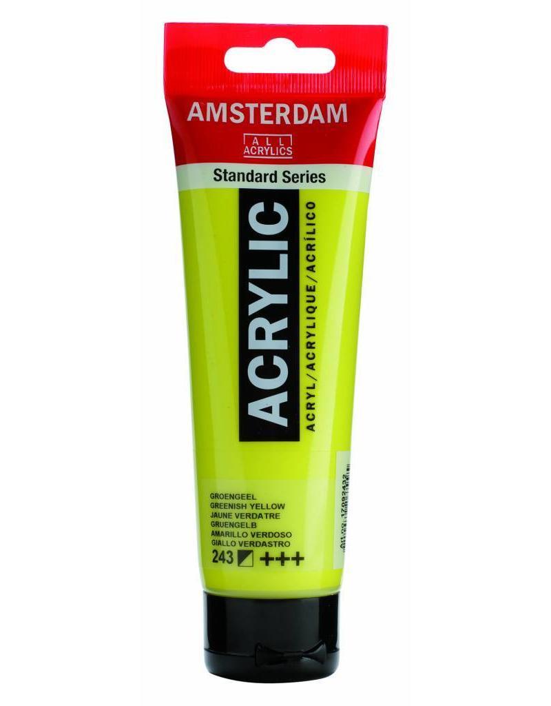 Talens Amsterdam acrylverf Groengeel