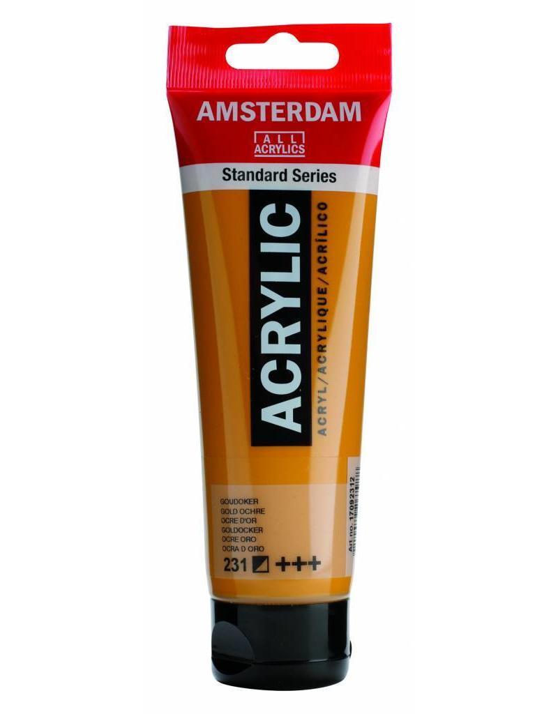 Talens Amsterdam acrylverf Goudoker