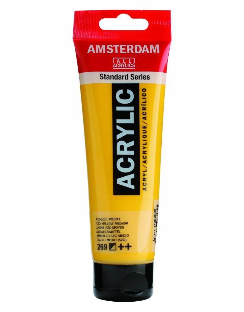 Talens Amsterdam acrylverf Azogeel Middel