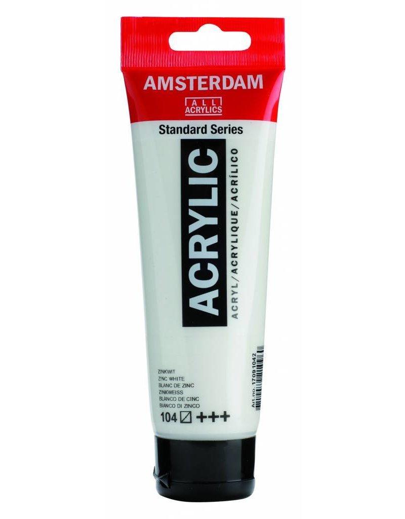Talens Amsterdam acrylverf Zinkwit