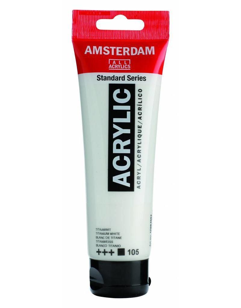 Talens Amsterdam acrylverf Titaanwit