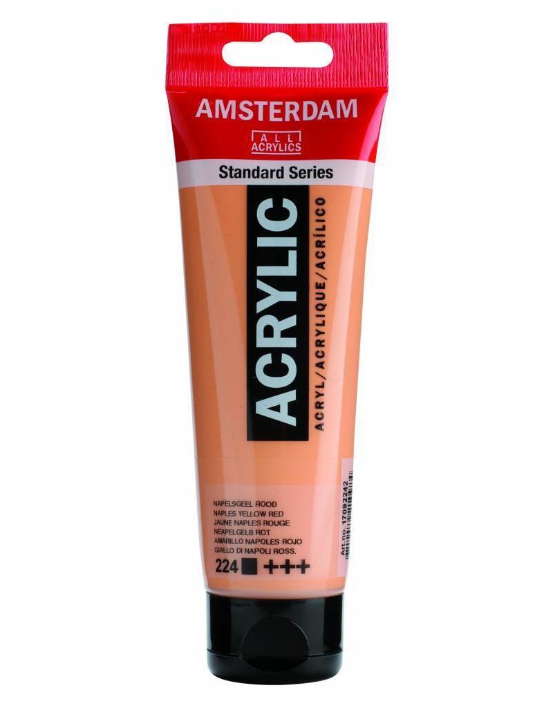 Talens Amsterdam acrylverf Napelsgeel Rood