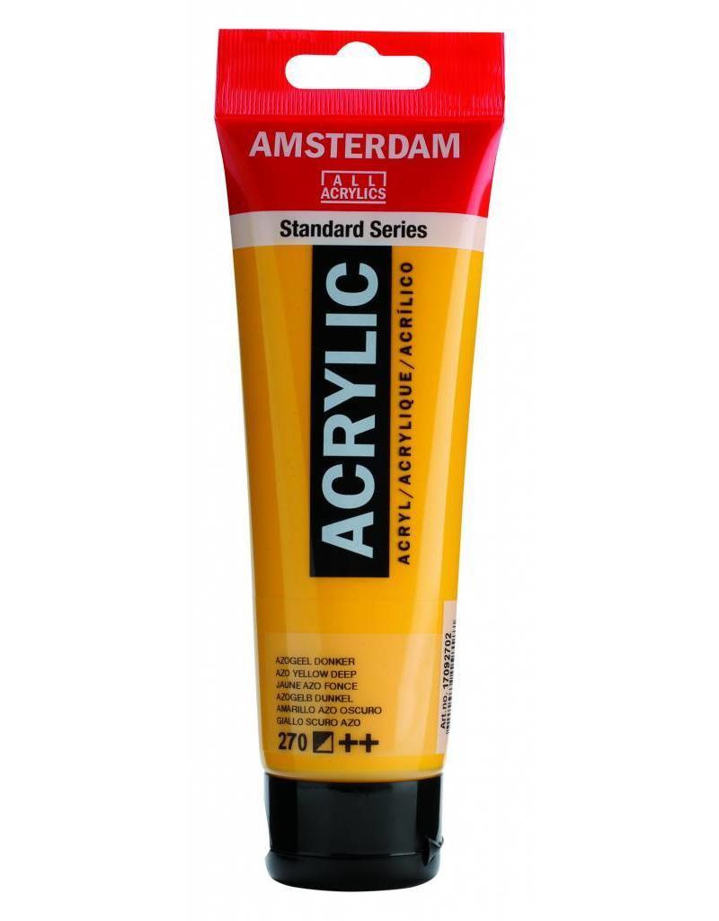 Talens Amsterdam acrylverf Azogeel Donker
